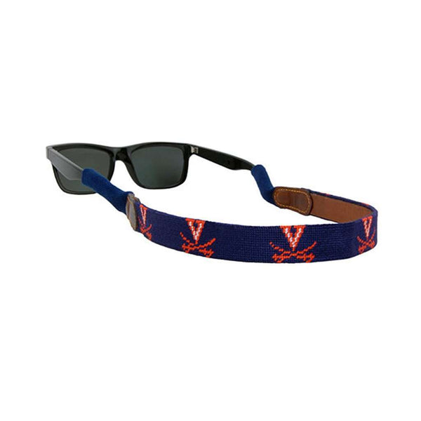 University of Virginia Needlepoint Sunglass Straps by Smathers & Branson
