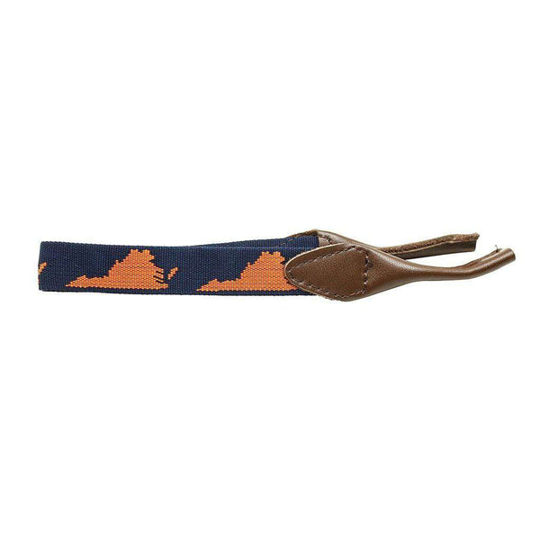Virginia Sunglass Straps in Navy Blue by 39th Parallel