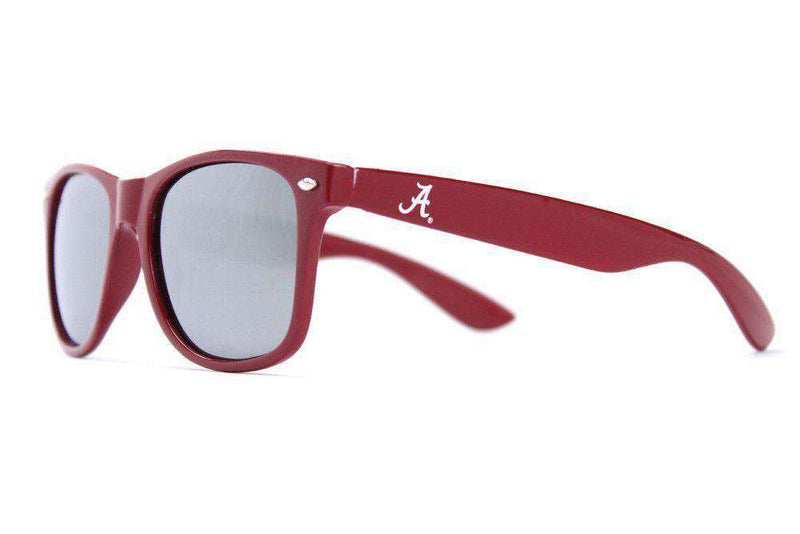 Sunglasses - Alabama Throwback Sunglasses In Crimson By Society43