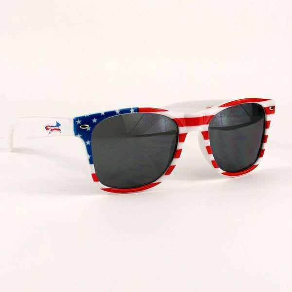 "Sunglasses - All Enemies Foreign And Domestic ""Longshanks"" Wayfarer Shades By Country Club Prep"
