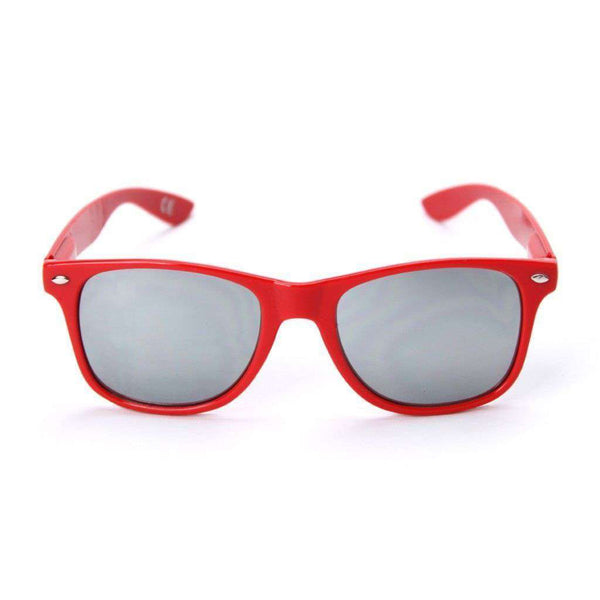 Sunglasses - Arkansas Throwback Sunglasses In Red By Society43