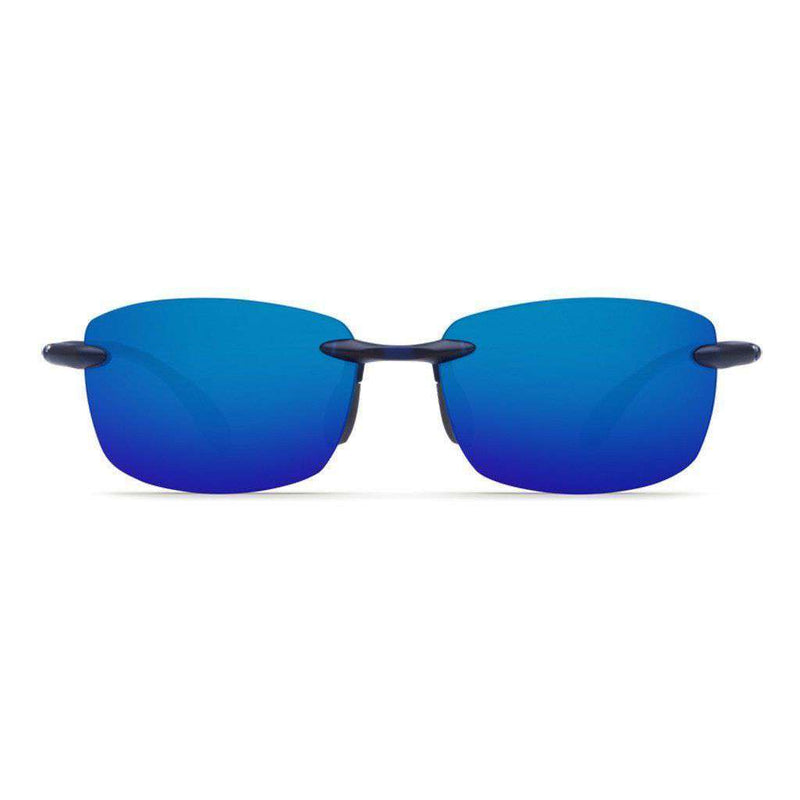 Ballast Sunglasses in Matte Blue with Blue Mirror 580P Lenses by Costa Del Mar