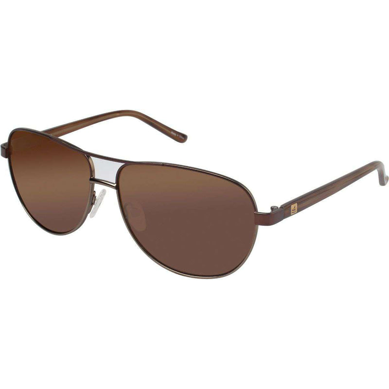 Sunglasses - Bayside Polarized Sunglasses In Brown By Sperry
