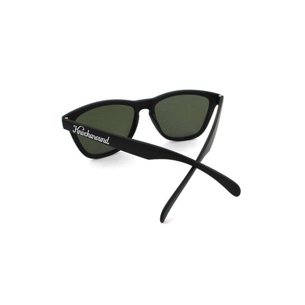 Sunglasses - Black Classic Sunglasses With Polarized Moonshine Lenses By Knockaround
