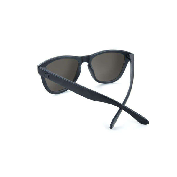 Sunglasses - Black On Black Premiums With Smoke Lenses By Knockaround