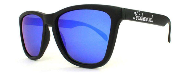 Sunglasses - Black Premium Sunglasses With Polarized Moonshine Lenses By Knockaround