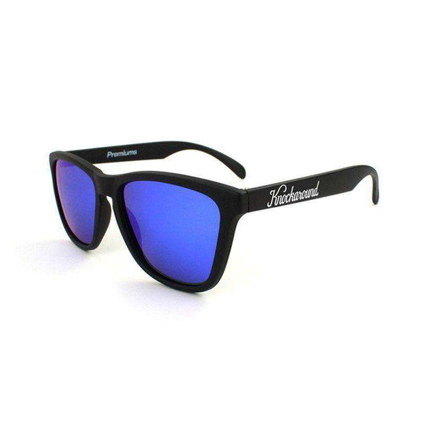 Black Premium Sunglasses with Polarized Moonshine Lenses by Knockaround