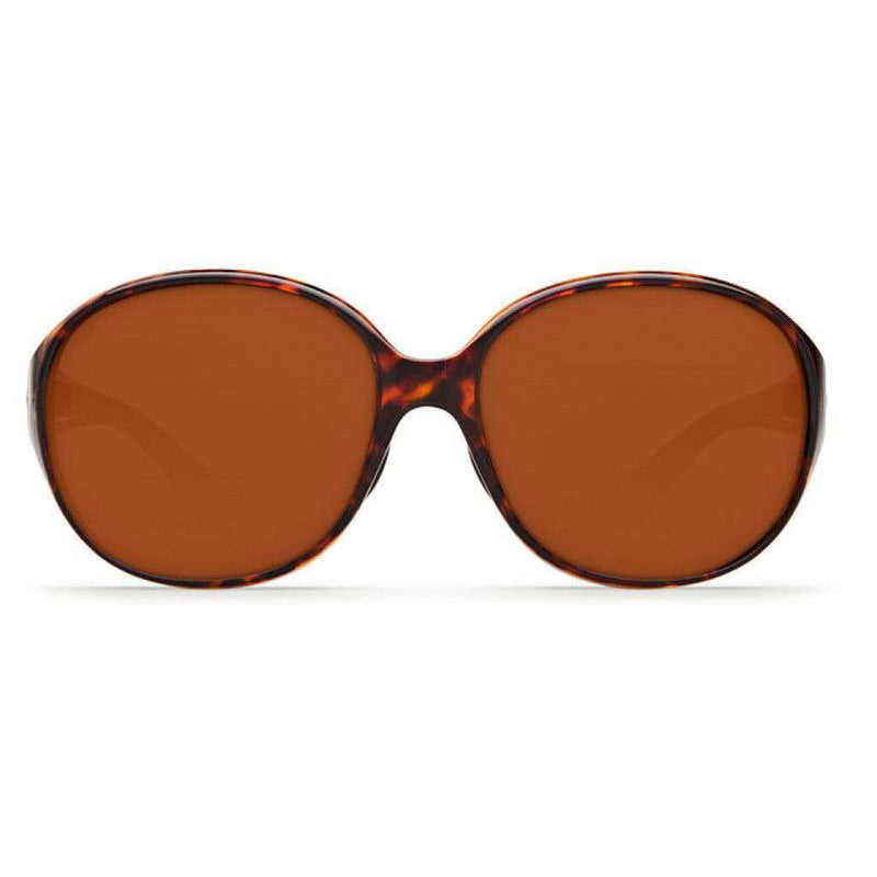 Sunglasses - Blenny Tortoise Shell Sunglasses With Copper 580P Lenses By Costa Del Mar