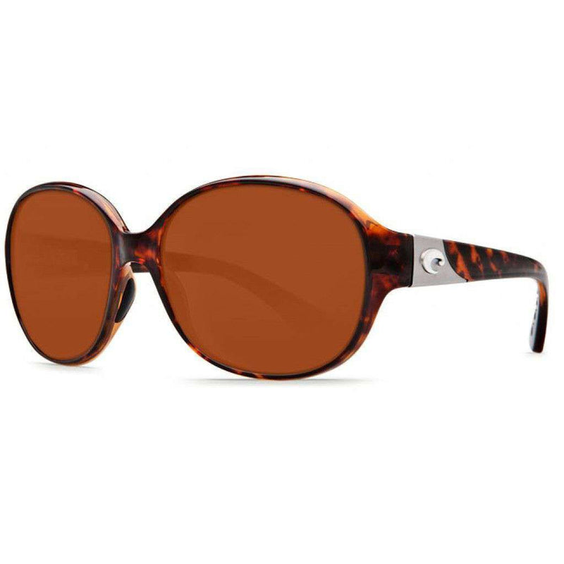 Blenny Tortoise Shell Sunglasses with Copper 580P Lenses by Costa Del Mar