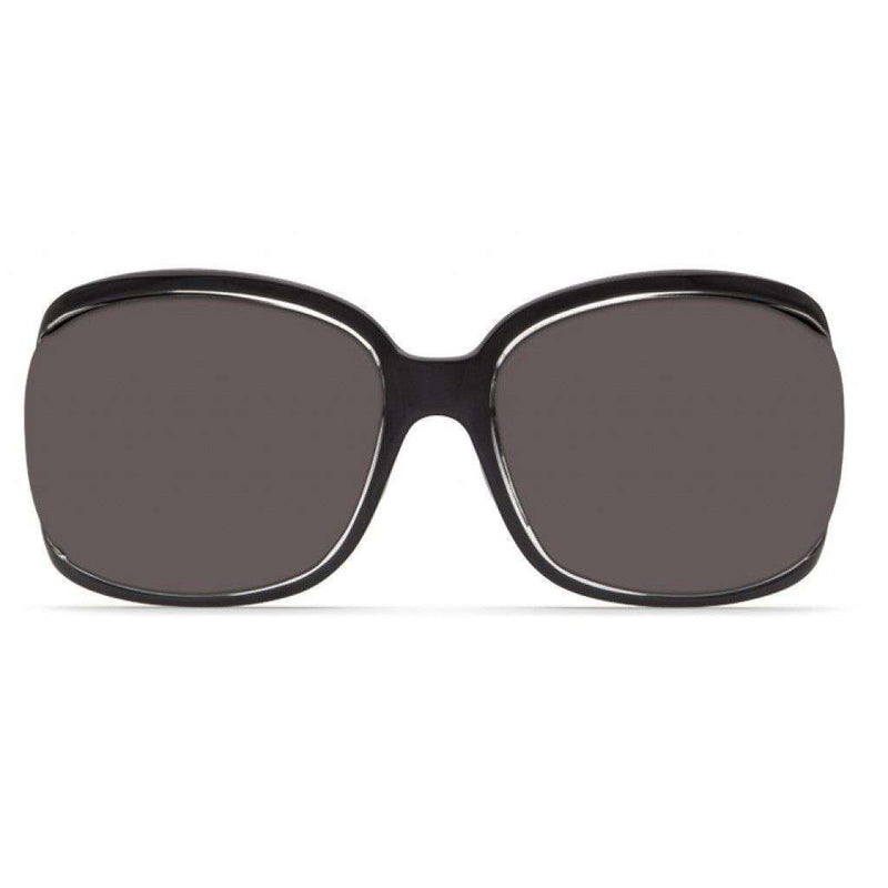 Boga Squall Black Sunglasses with Gray 580P Lenses by Costa Del Mar