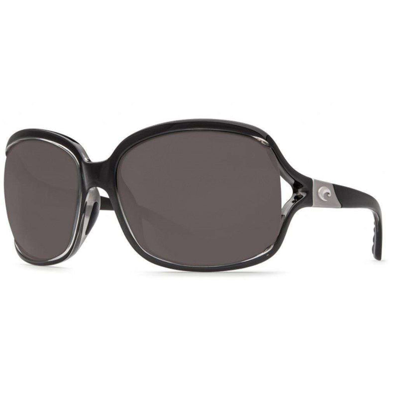 Sunglasses - Boga Squall Black Sunglasses With Gray 580P Lenses By Costa Del Mar