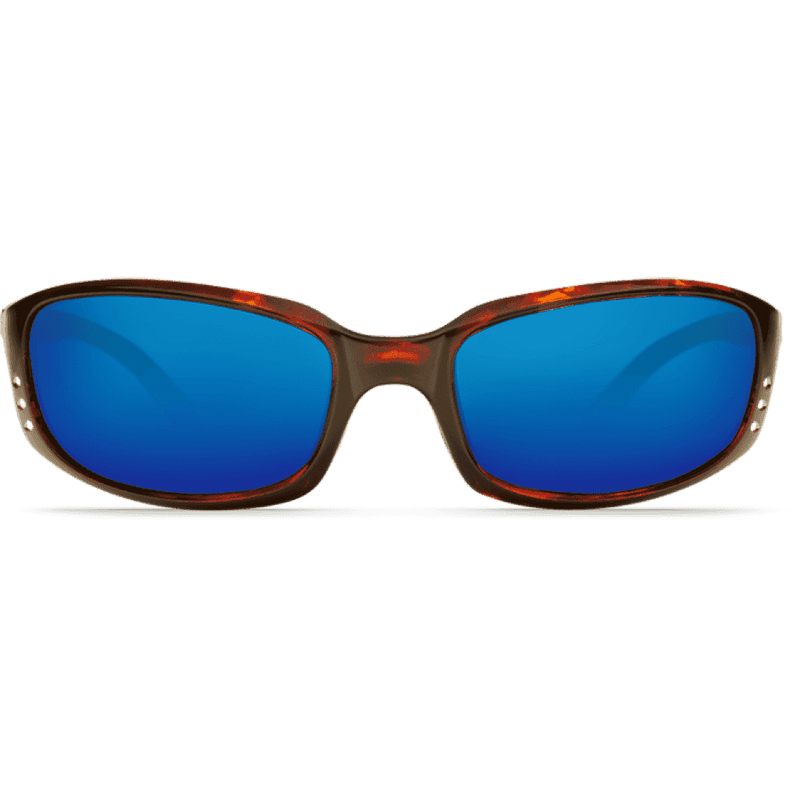 Sunglasses - Brine Tortoise Shell Sunglasses With Blue Mirror 400G Lenses By Costa Del Mar