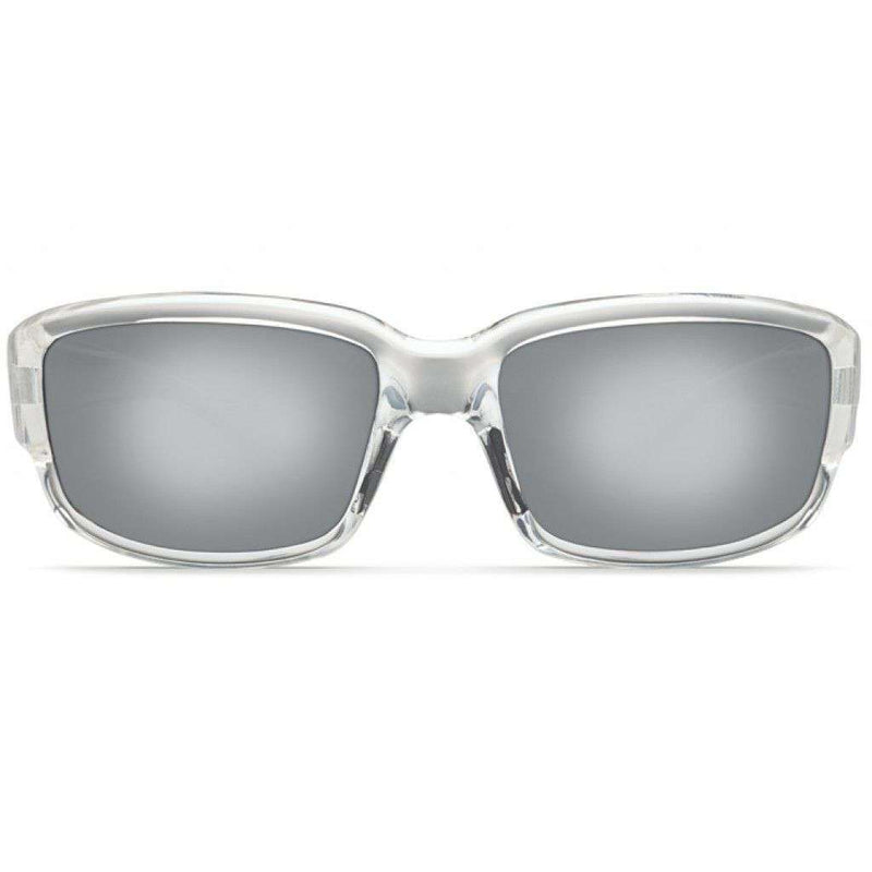 Caballito Crystal Sunglasses with Silver 580P Lenses by Costa Del Mar