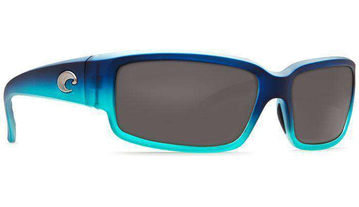 Sunglasses - Caballito Matte Caribbean Fade Sunglasses With 580P Gray Lenses By Costa Del Mar