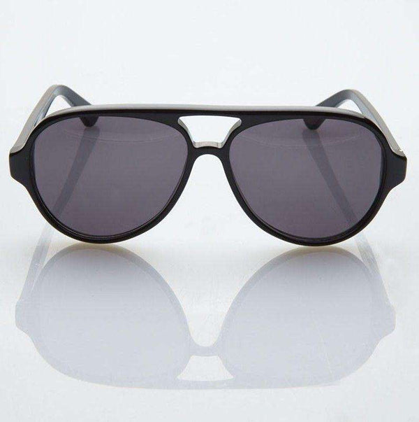 Dusty Sunglasses in Black by Red's Outfitters