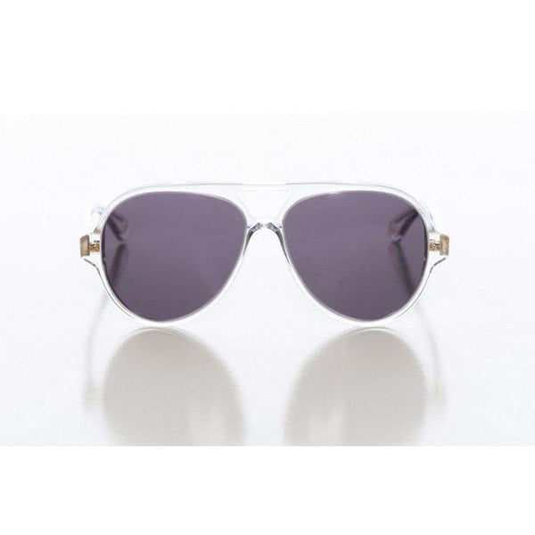 Egan Sunglasses in Clear with Grey Lens by Red's Outfitters - FINAL SALE