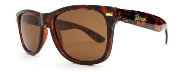 Sunglasses - Fort Knocks Sunglasses In Tortoise Shell With Amber Lenses By Knockaround