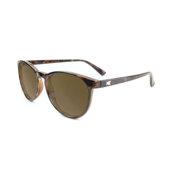 Glossy Tortoise Shell Mai Tais with Amber Polarized Lenses by Knockaround