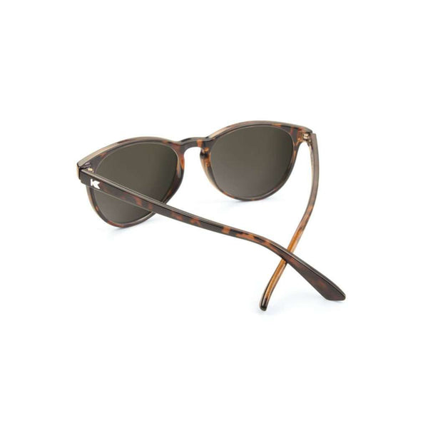 Sunglasses - Glossy Tortoise Shell Mai Tais With Amber Polarized Lenses By Knockaround