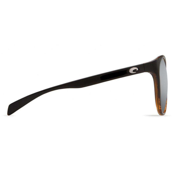 Goby Coconut Fade Sunglasses with Silver Mirror 580P Lenses by Costa Del Mar