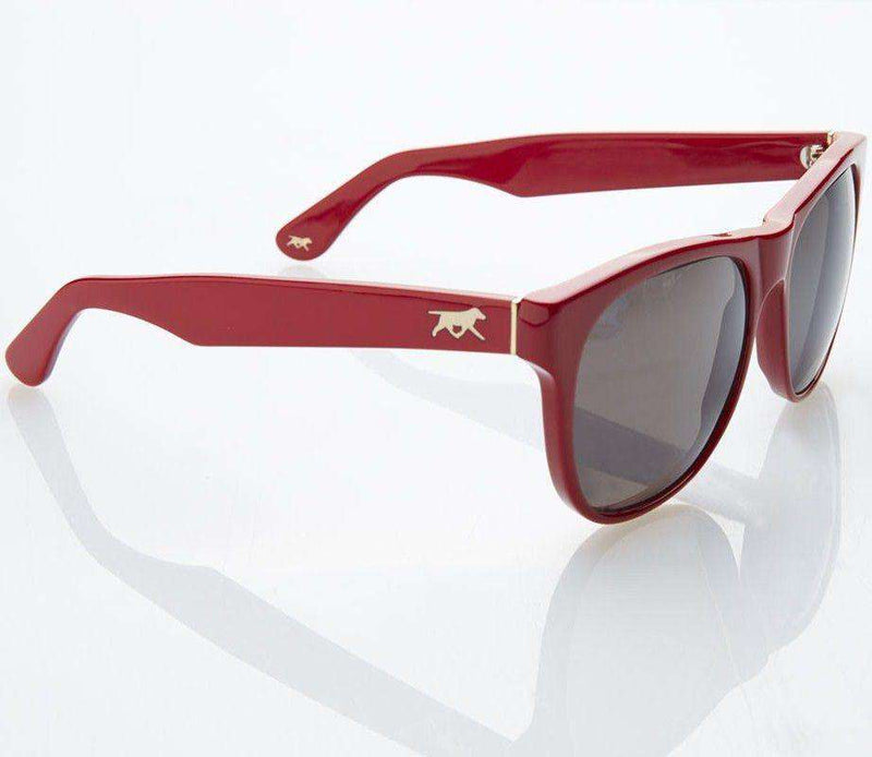 Sunglasses - Gregory Sunglasses In Lannister Crimson By Red's Outfitters