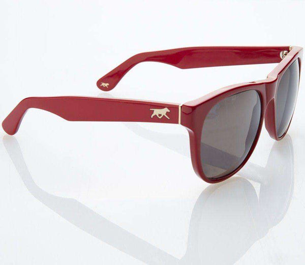 Gregory Sunglasses in Lannister Crimson by Red's Outfitters
