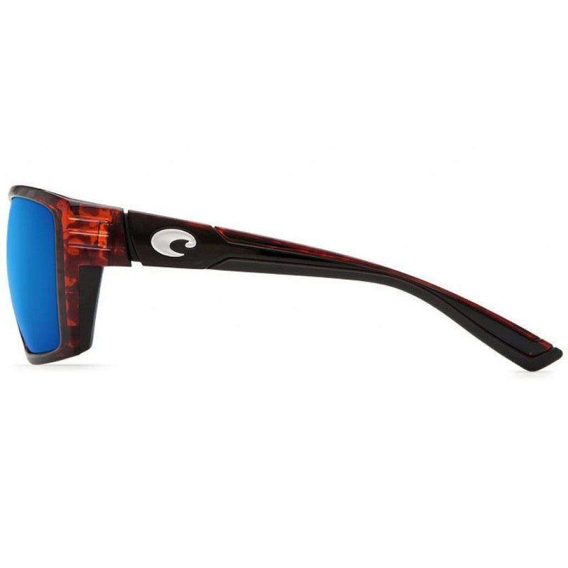 Hamlin Tortoise Sunglasses with Blue Mirror 400G Lenses by Costa Del Mar
