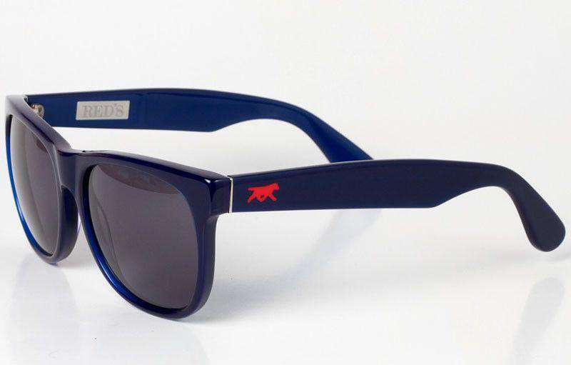 Sunglasses - Henry Sunglasses In Navy By Red's Outfitters