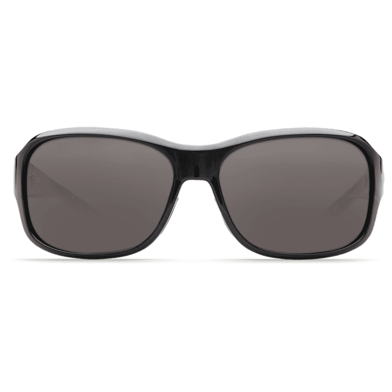 Sunglasses - Inlet Black Sunglasses With Gray 580P Lenses By Costa Del Mar