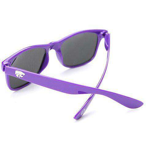 Kansas State Throwback Sunglasses in Purple by Society43