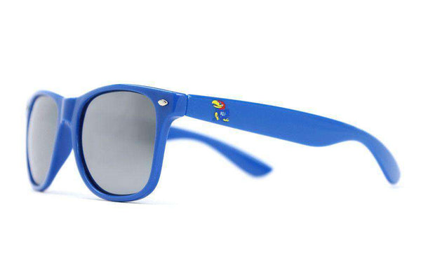 Sunglasses - Kansas Throwback Sunglasses In Blue By Society43