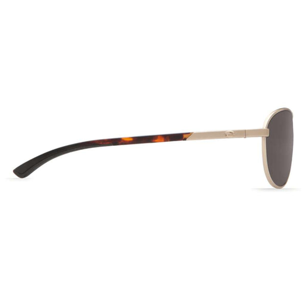 Sunglasses - KC Rose Gold Sunglasses With Gray 580P Lenses By Costa Del Mar