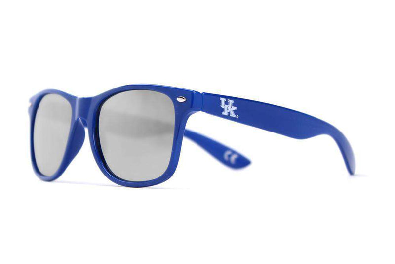 Sunglasses - Kentucky Throwback Sunglasses In Blue By Society43 - FINAL SALE