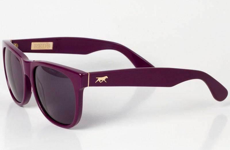 Sunglasses - Landry Sunglasses In Purple By Red's Outfitters