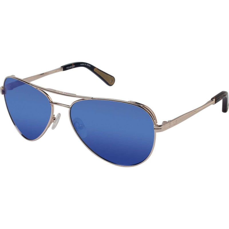 Largo Polarized Sunglasses in Shiny Gold by Sperry