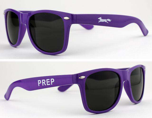 "Sunglasses - Limited Edition Country Club Prep Longshanks ""Prep"" Sunglasses In Purple"
