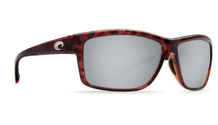Mag Bay Tortoise Shell Sunglasses with Silver Mirror 580P Lenses by Costa Del Mar