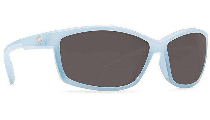 Sunglasses - Manta Matte Ocean Sunglasses With Gray 580P Lenses By Costa Del Mar