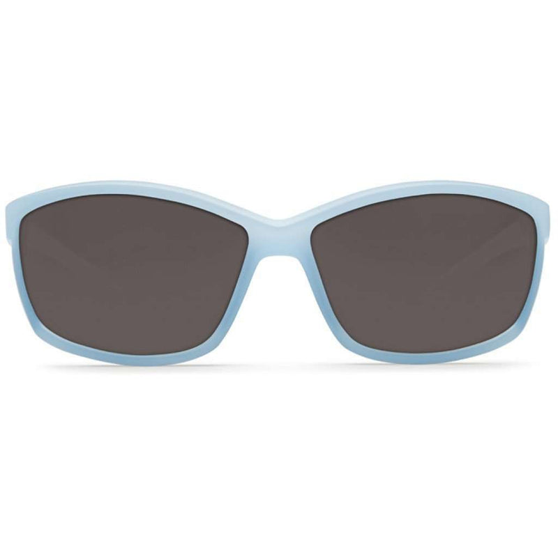 Manta Matte Ocean Sunglasses with Gray 580P Lenses by Costa Del Mar
