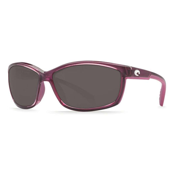 Manta Sunglasses in Orchid with Gray 580P Lenses by Costa Del Mar