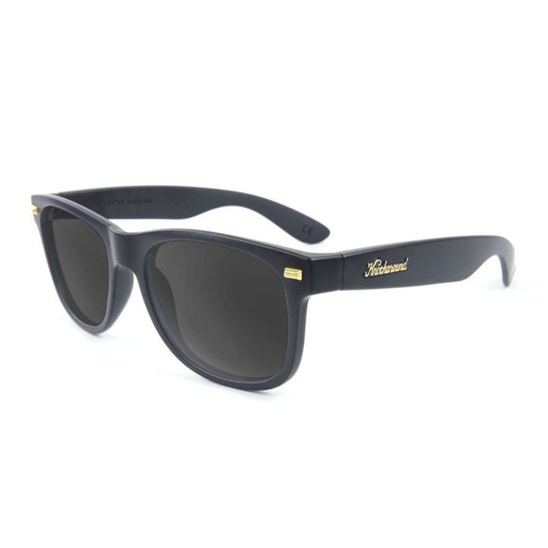 Matte Black Fort Knock with Polarized Smoke Lenses by Knockaround