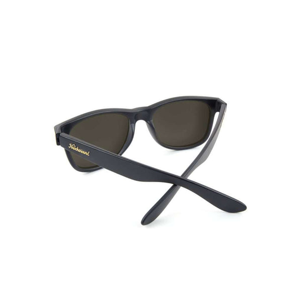 Matte Black Fort Knocks with Sunset Polarized Lenses by Knockaround