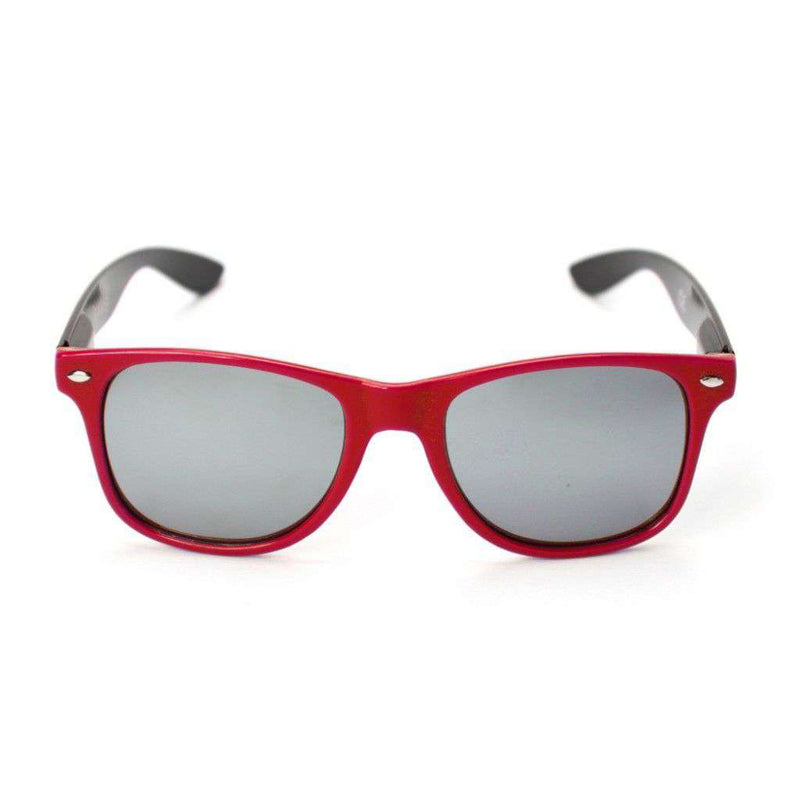 Sunglasses - Miami University Throwback Sunglasses In Red And Black By Society43