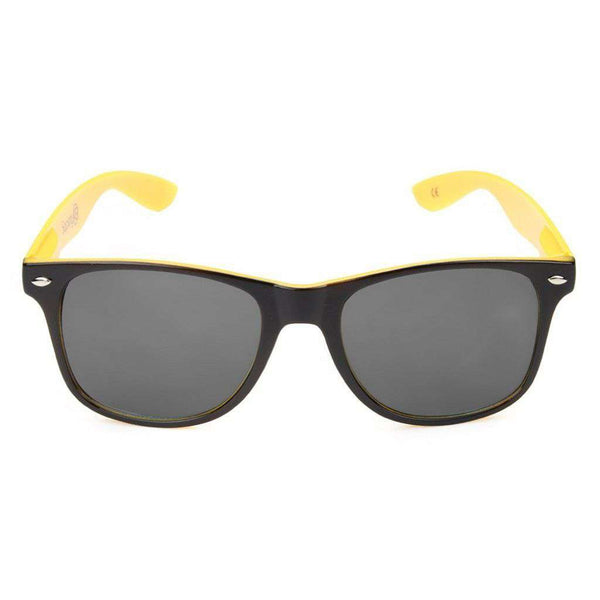 Sunglasses - Missouri Tigers Throwback Sunglasses In Black And Yellow By Society43