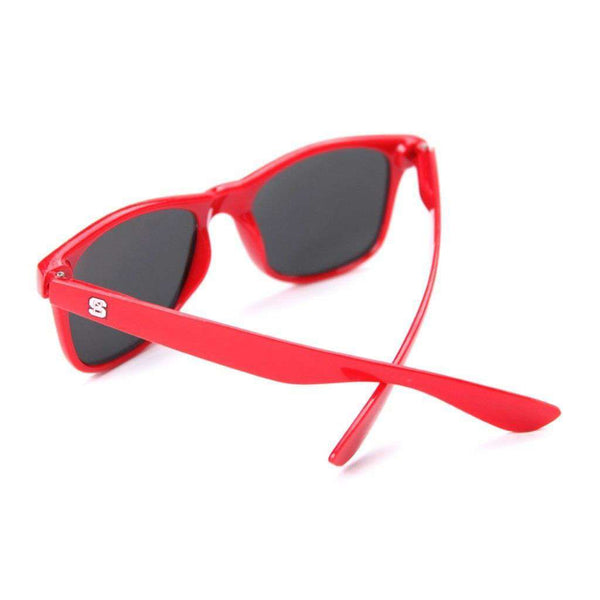 NC State Throwback Sunglasses in Red by Society43