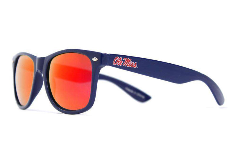 Sunglasses - Ole Miss Throwback Sunglasses In Blue By Society43