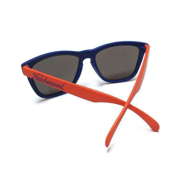 Orange & Blue Premium Sunglasses with Smoke Lenses by Knockaround