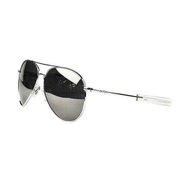 Sunglasses - Original Pilot Aviator Sunglasses In Silver By Res Ipsa