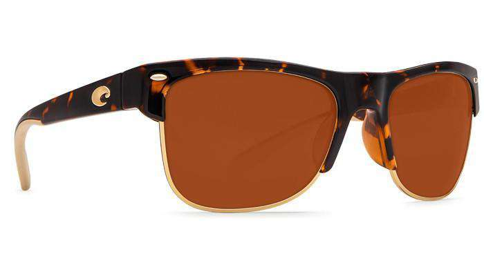 Sunglasses - Pawley's Tortoise Shell Sunglasses With Copper 580P Lenses By Costa Del Mar