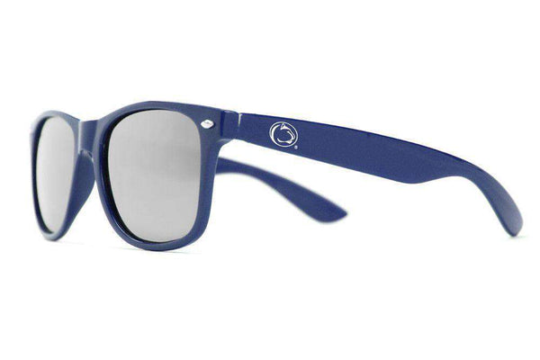 Sunglasses - Penn State Throwback Sunglasses In Navy By Society43